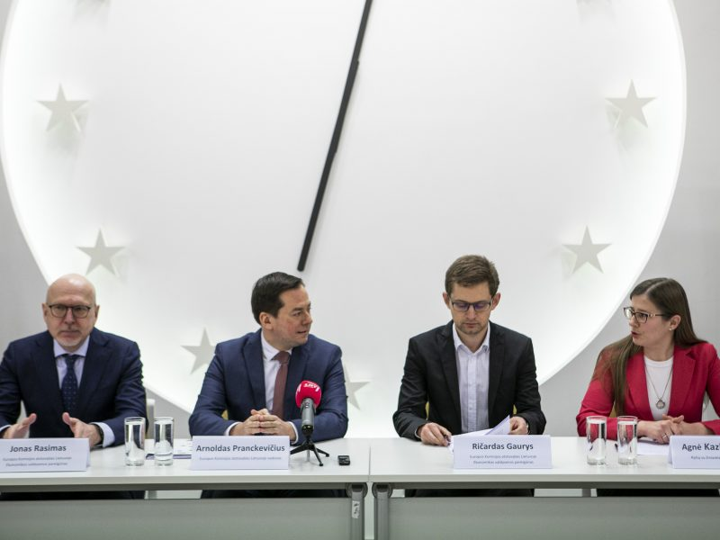 Europos komisijos ataskaitos pristatymas