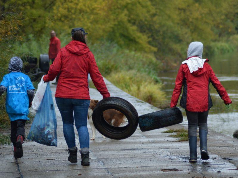 Pirmąjį birželio savaitgalį pasaulis telksis upių švarinimui