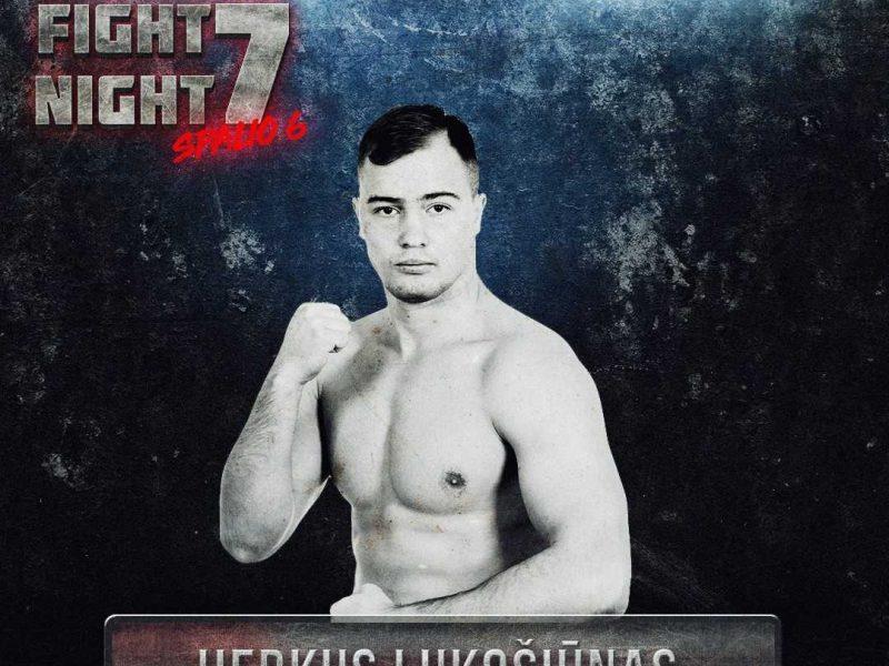 Karjeros kryptį pakeitęs H. Lukošiūnas į MMA narvą žengia su dideliais lūkesčiais