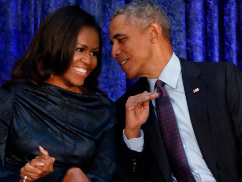 Obamos atsidūrė žmonių, kuriais amerikiečiai žavisi labiausiai, sąrašų priekyje