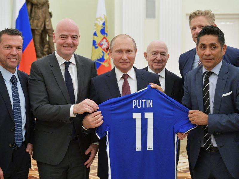FIFA prezidentas: pasaulis įsimylėjęs Rusiją
