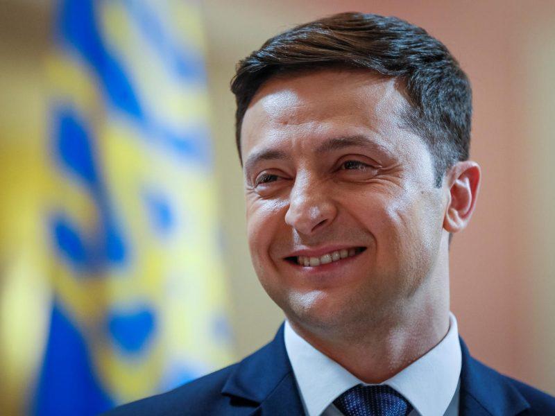 Lenkija remia V. Zelenskio taikos iniciatyvas
