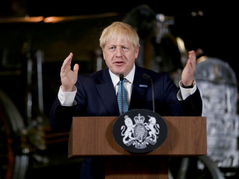 """B. Johnsonas: """"Brexit"""" – tai """"didžiulė ekonominė galimybė"""""""