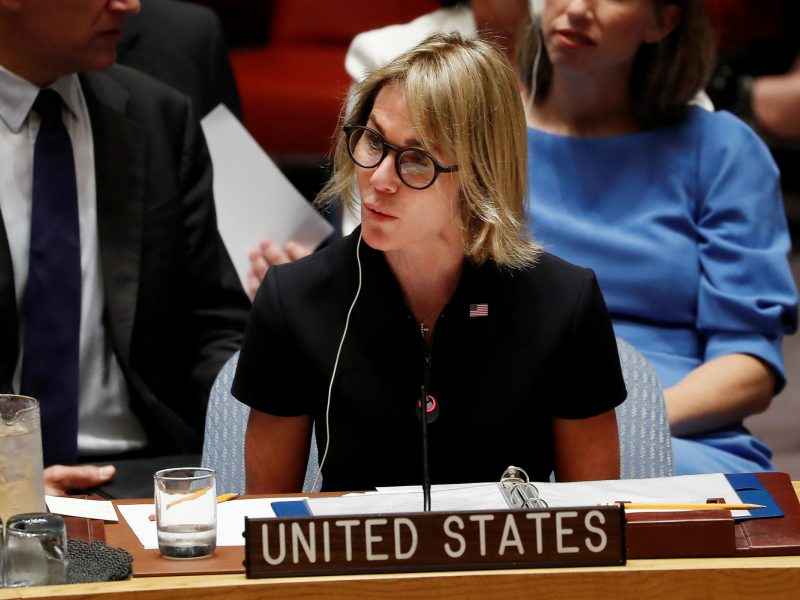 Naujoji JAV ambasadorė prie JT K. Craft pradėjo eiti pareigas