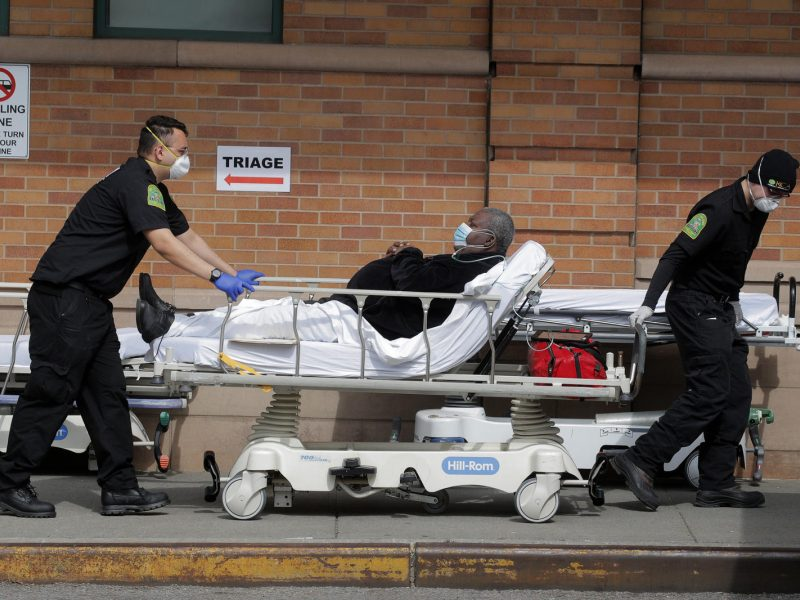 Niujorke per 24 val. nuo koronaviruso mirė 731 žmogus