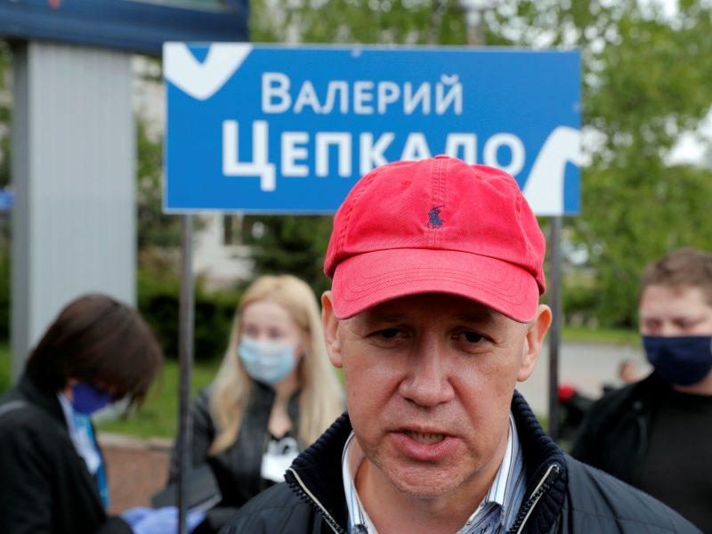Baltarusijos rinkimų komisija neleido V. Cepkalai dalyvauti prezidento rinkimuose