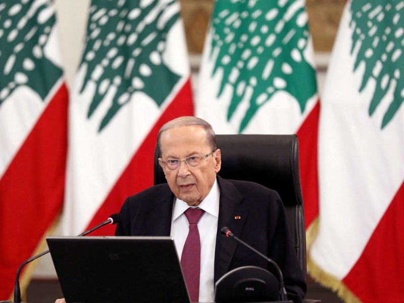 Libano prezidentas: sprogimas Beirute padarė daugiau nei 15 mlrd. dolerių žalos