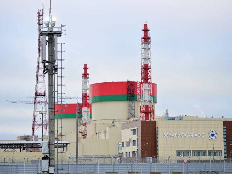 EP ragina stabdyti Astravo AE veiklą ir joje pagamintos elektros importą