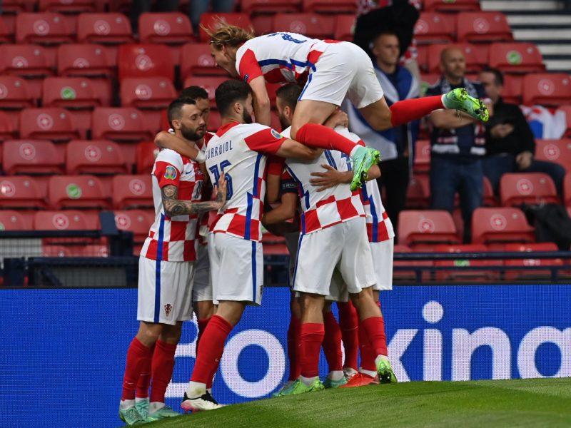Europos futbolo čempionatas: Kroatija–Škotija 3:1