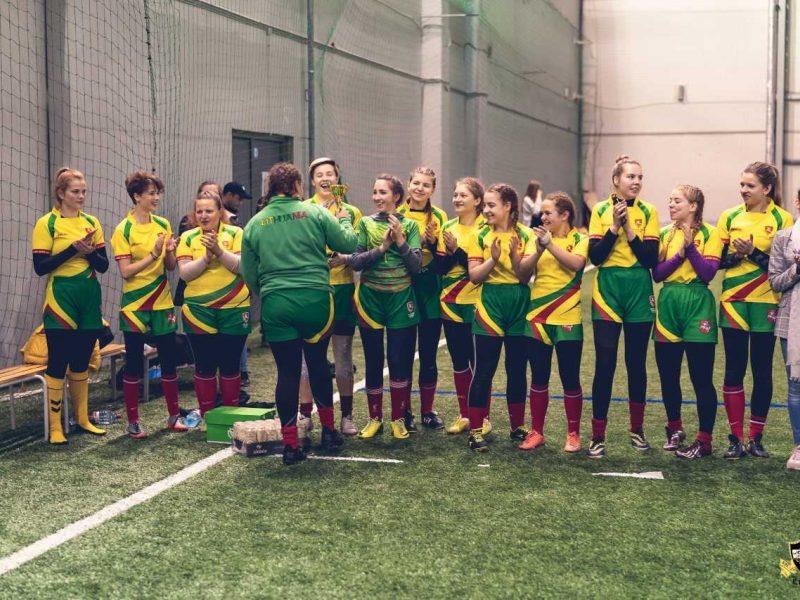 Lietuvos moterų mažojo regbio rinktinė Latvijoje iškovojo bronzos medalius