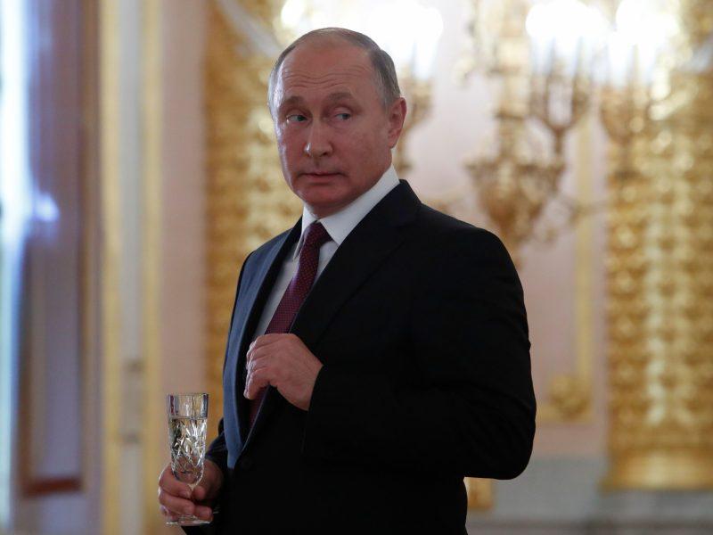 V. Putinas: Rusijos ir Estijos gerų santykių pagrindas – pagarba judviejų interesams