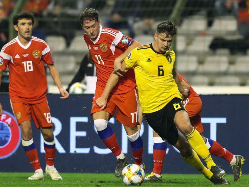 Europos čempionato atranka: Belgijos antausis Rusijai ir olandų įvarčių šou