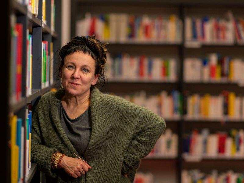 Nobelio literatūros premijos laureatė: rašymas palaiko mane gyvą