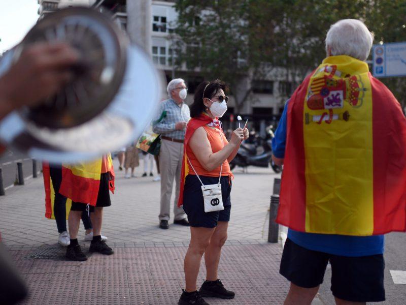 Ispanija nurodė gyventojams dėvėti kaukes viešose vietose