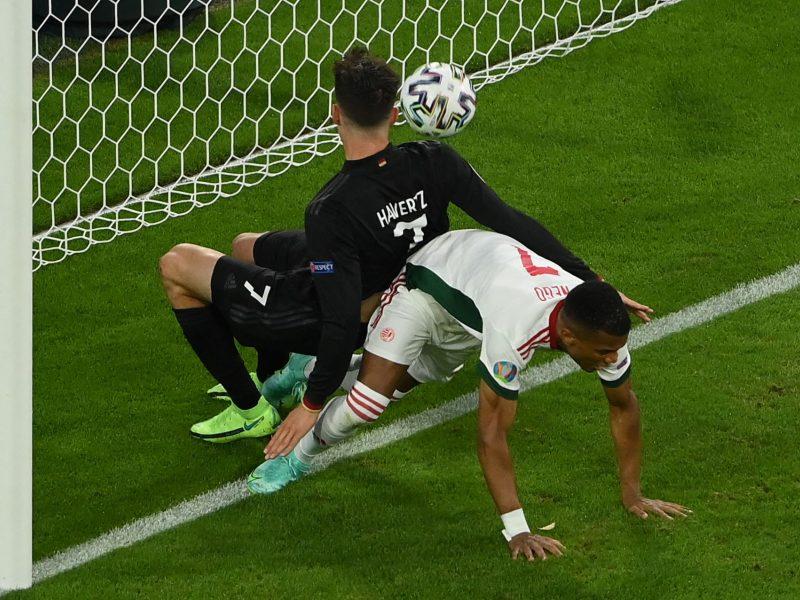 Europos futbolo čempionatas: Vokietija–Vengrija 2:2
