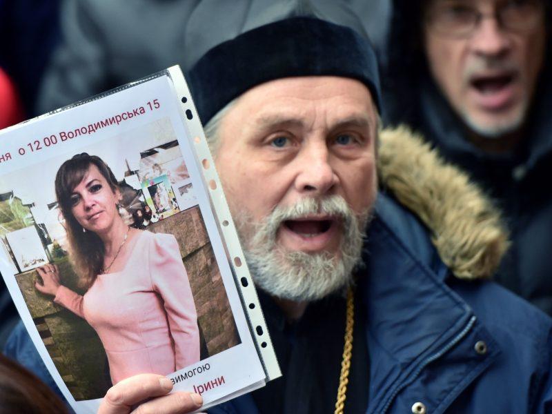 Ukrainoje suimtas įtariamas žmogaus teisių aktyvistės I. Nozdrovskos žudikas