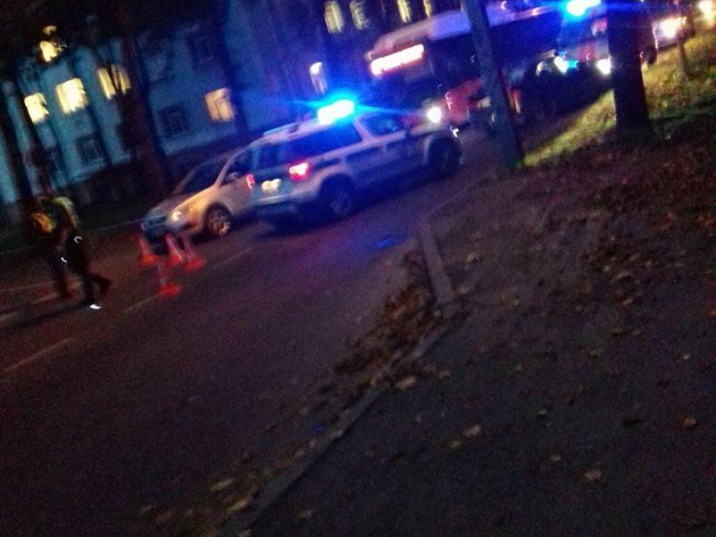 Per avariją Vydūno alėjoje sužalotas motociklininkas