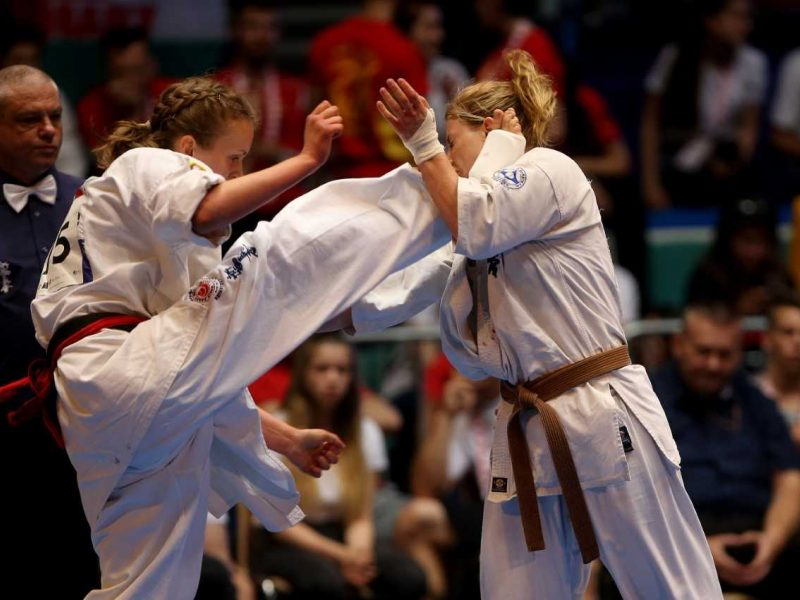 Karatė kovotoja B. Gustaitytė iškovojo dar vieną titulą Švedijoje