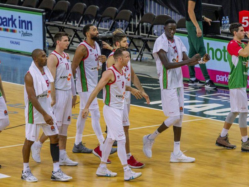 """""""Baskonia"""" krepšininkai įveikė """"Herbalife Gran Canaria"""" ekipą"""