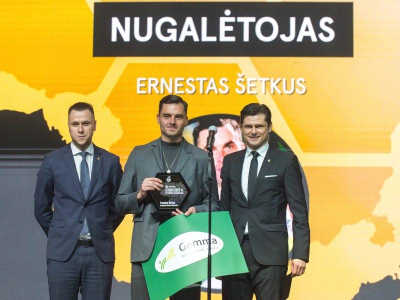 Lietuvos futbolo geriausiųjų apdovanojimų ceremonija