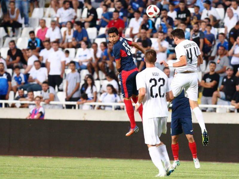 """""""Stumbro"""" futbolininkai pralaimėjo Limasolio klubui ir baigė pasirodymą Europoje"""