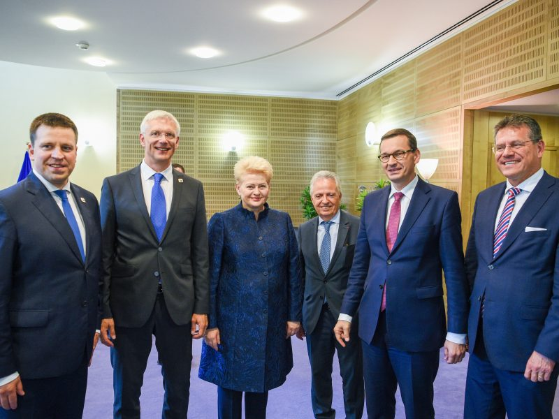 Briuselyje – ES ateičiai svarbūs klausimai