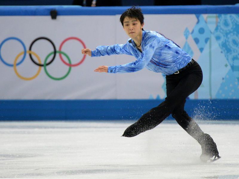 Olimpinių žaidynių dailiojo čiuožimo komandinių varžybų lyderiais tapo japonai