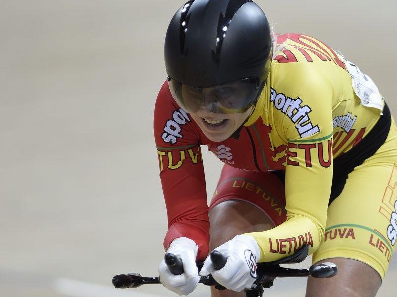 A. Trebaitei – Europos treko čempionato auksas!