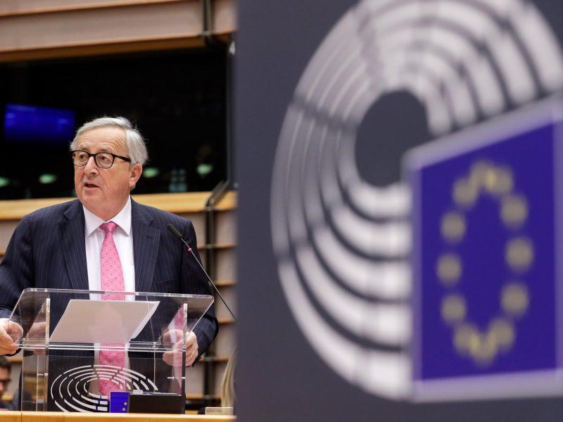 """J. C. Junckeris: """"Brexit"""" padariniai yra Jungtinės Karalystės atsakomybė"""