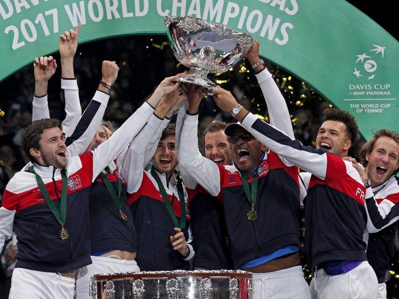 Daviso taurės finale – Prancūzijos tenisininkų triumfas
