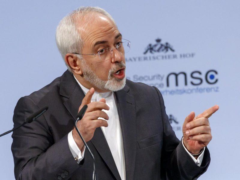 Irano užsienio reikalų ministras M. J. Zarifas ragina J. Bideną atšaukti JAV sankcijas