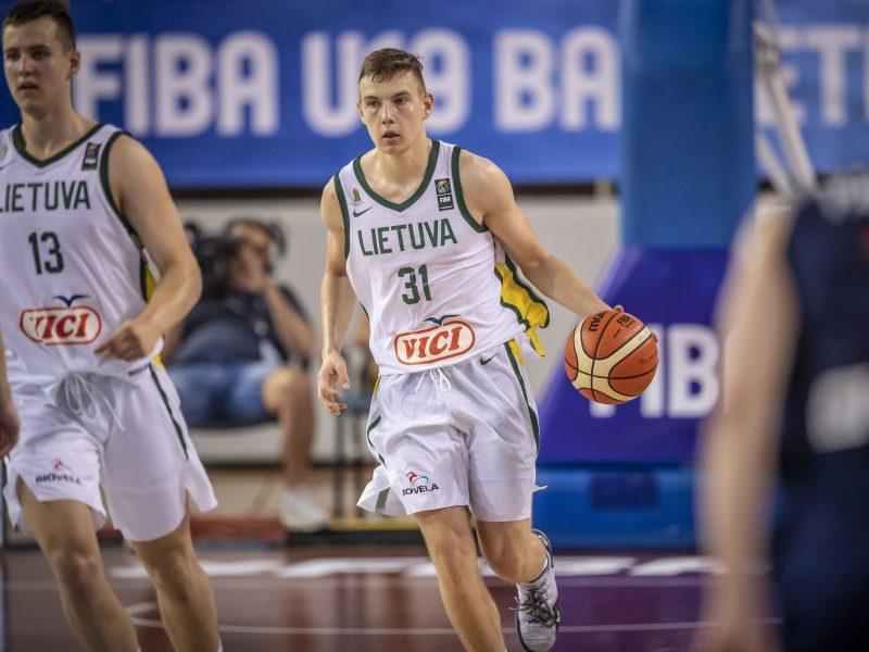 Paaiškėjo Lietuvos krepšinio jaunimo rinktinių varžovai Europos čempionate