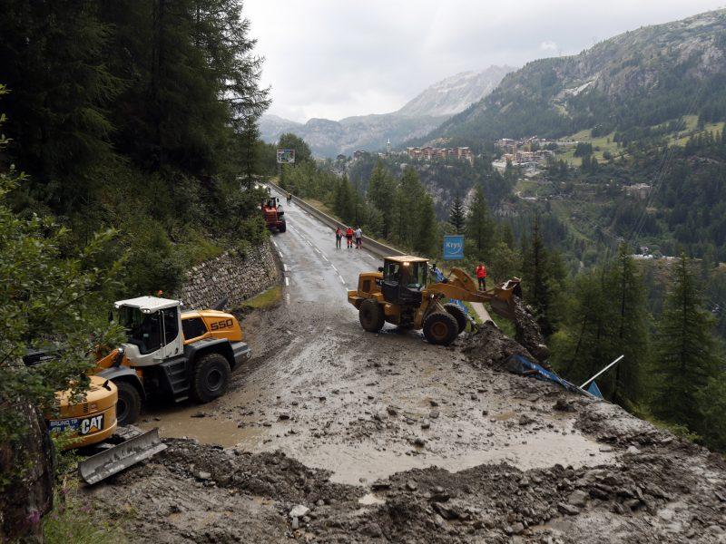 Europą nusiaubė audros