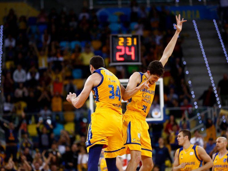 """""""Gran Canaria"""" sutrypė """"Olympiakos"""" krepšininkus"""
