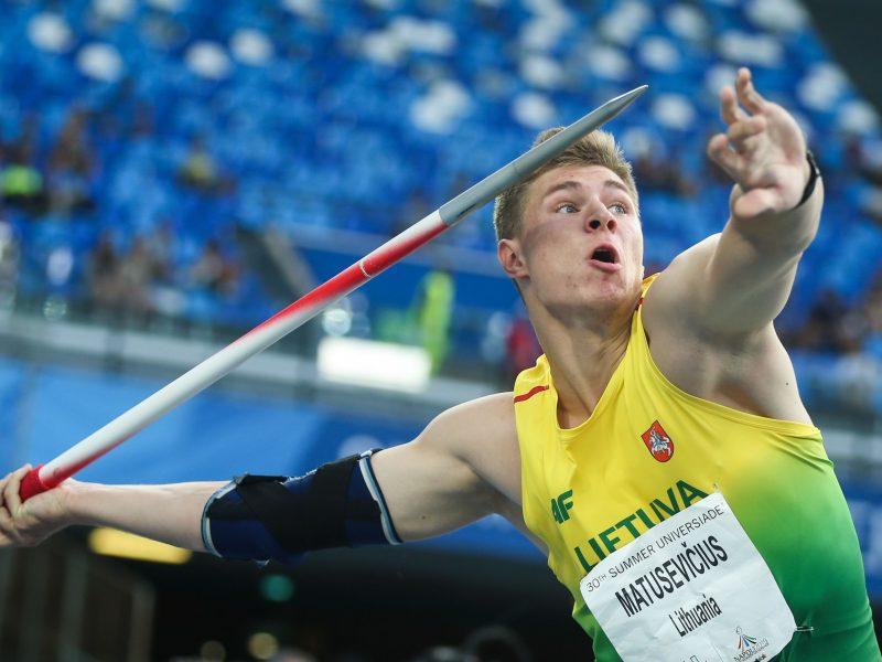Prestižinėse varžybose Minske E. Matusevičius iškovojo bronzą