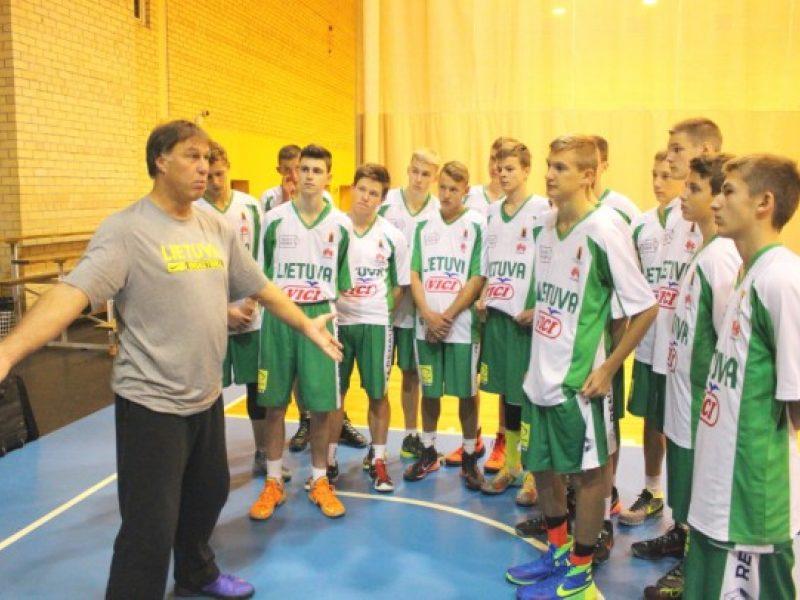 """""""Talentų U15 kartos"""" jaunųjų krepšininkų startas – ir su psichologijos užtaisu"""