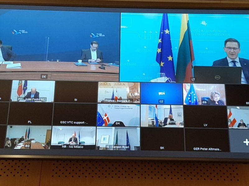 D. Kreivys paragino EK naudoti visas priemones prieš nesaugios elektros importą iš trečiųjų šalių