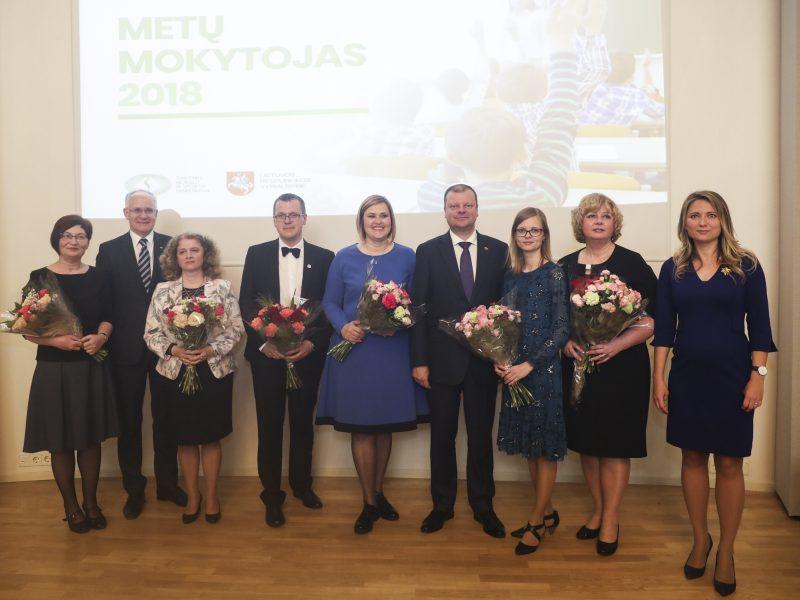 Įteiktos Metų mokytojo premijos