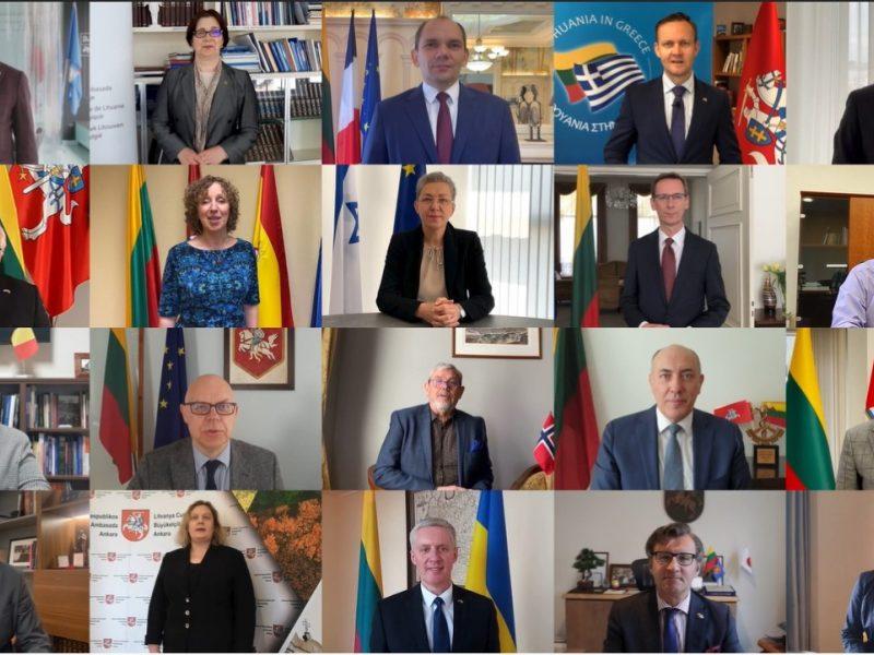 Europos dienos proga jungtinis sveikinimas Lietuvai ir pasauliui: be kultūros nėra demokratijos