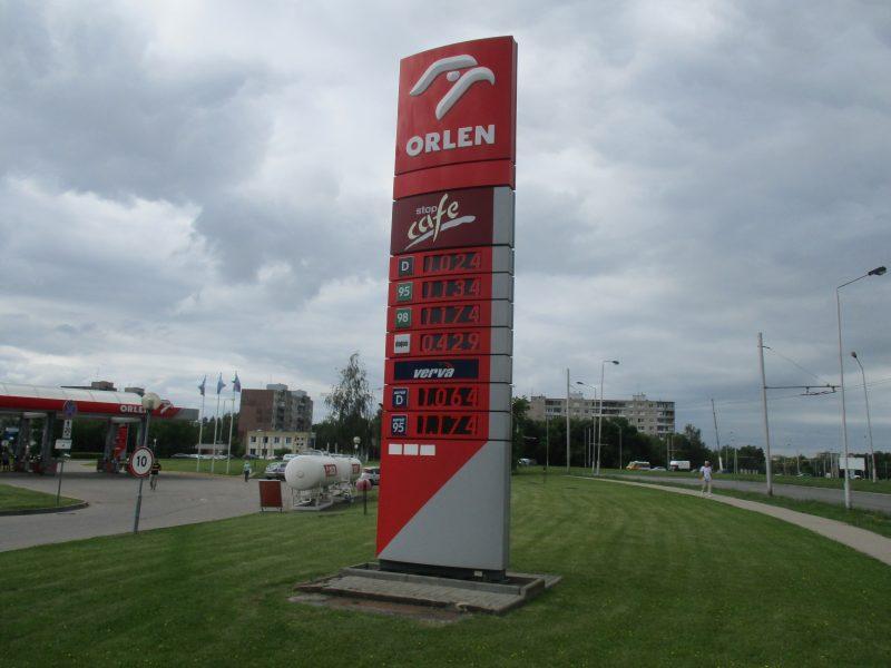 Skatinant alternatyviųjų degalų naudojimą, degalinės skelbs palyginamąsias jų kainas