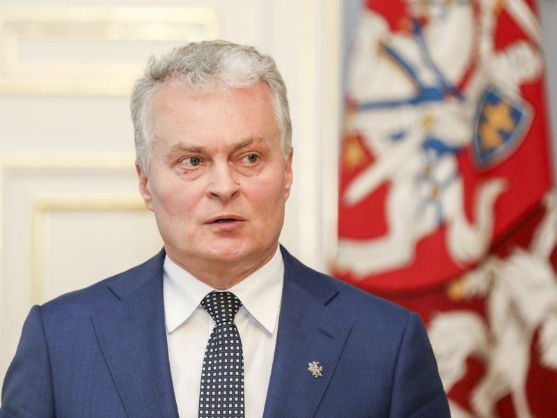 G. Nausėda ragina Vyriausybę labiau įtraukti savivaldybių atstovus į kovą su virusu