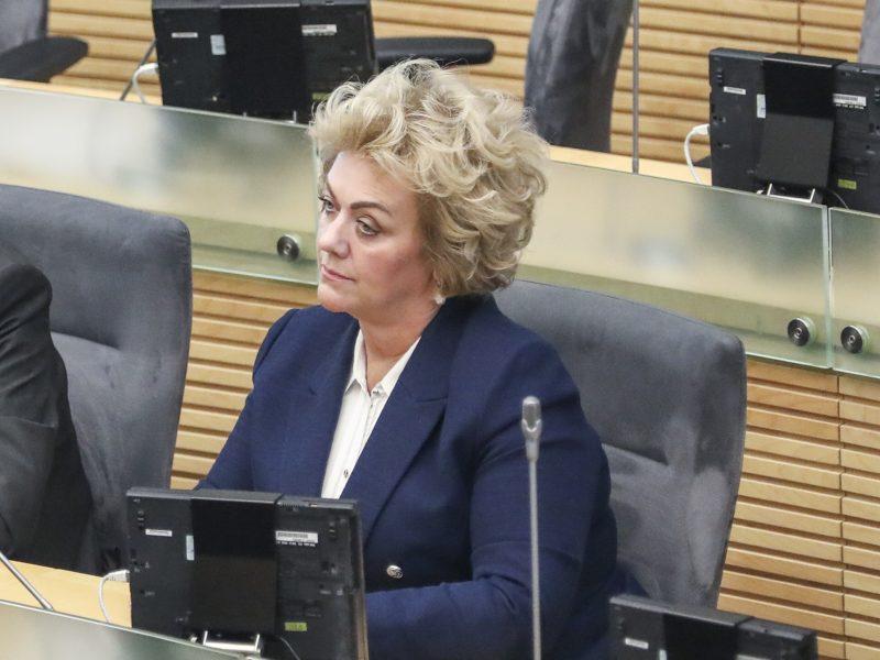 Seimas nepritarė: apkalta I. Rozovai nebegresia?