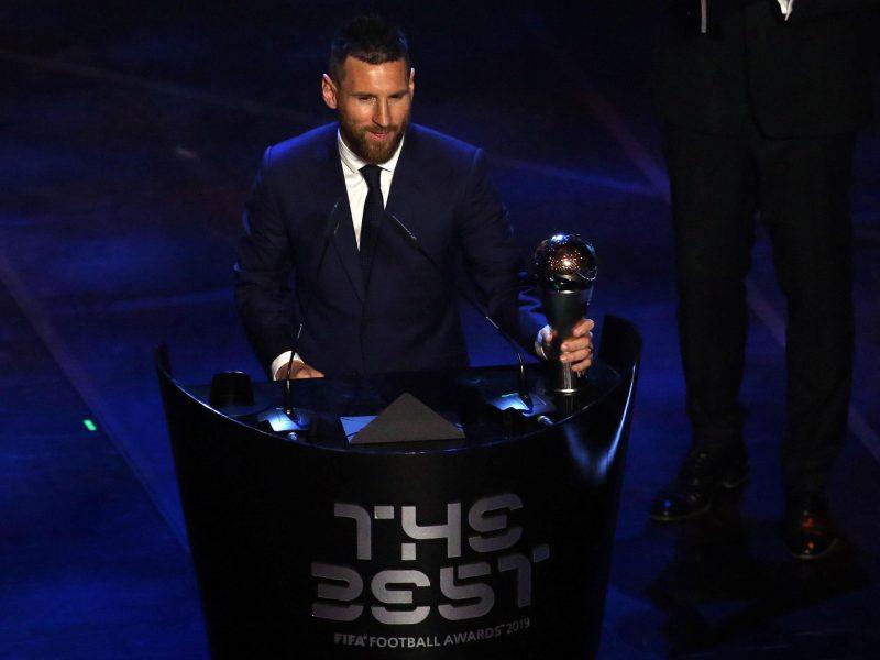 Geriausiu pasaulio futbolininku išrinktas L. Messi