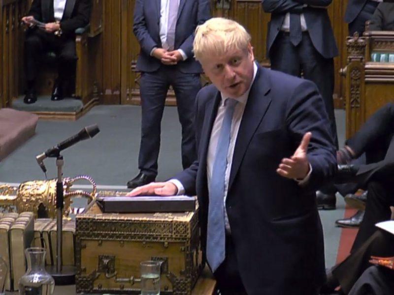 """B. Johnsonas Europos Sąjungai: """"Brexit"""" kamuolys yra jūsų aikštės pusėje"""