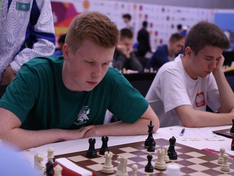 Lietuvos šachmatininkai Europos komandų čempionate pralaimėjo islandams