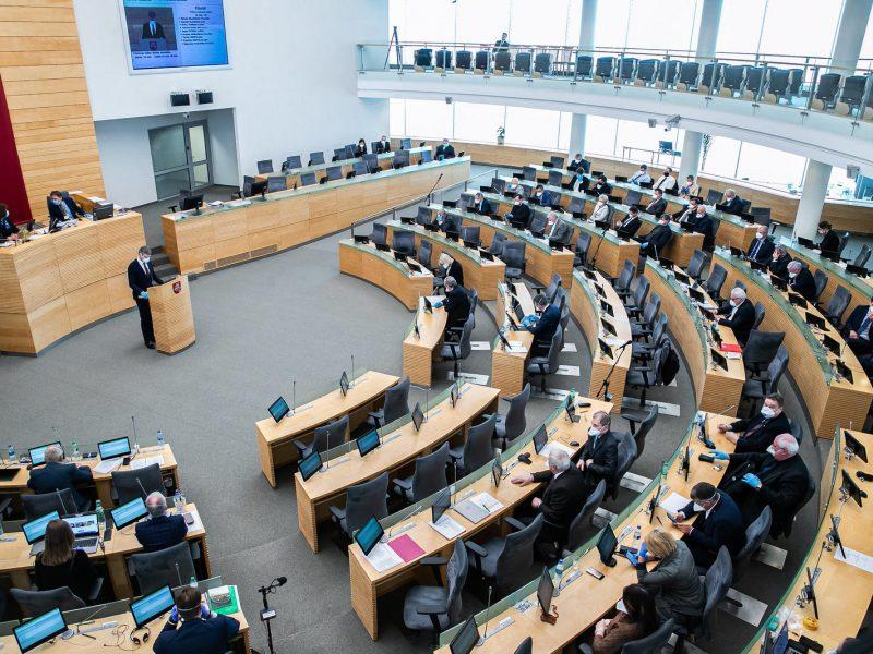 Parlamentas nutarė, kad savarankiškai dirbantieji gaus 257 eurų valstybės subsidiją