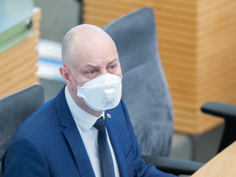 A. Veryga: planuojama infekcinių ligų infrastruktūros plėtra