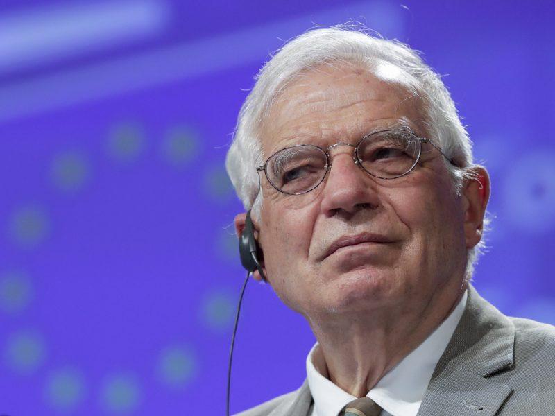 ES diplomatijos vadovas pasmerkė Irano grasinimus Izraeliui