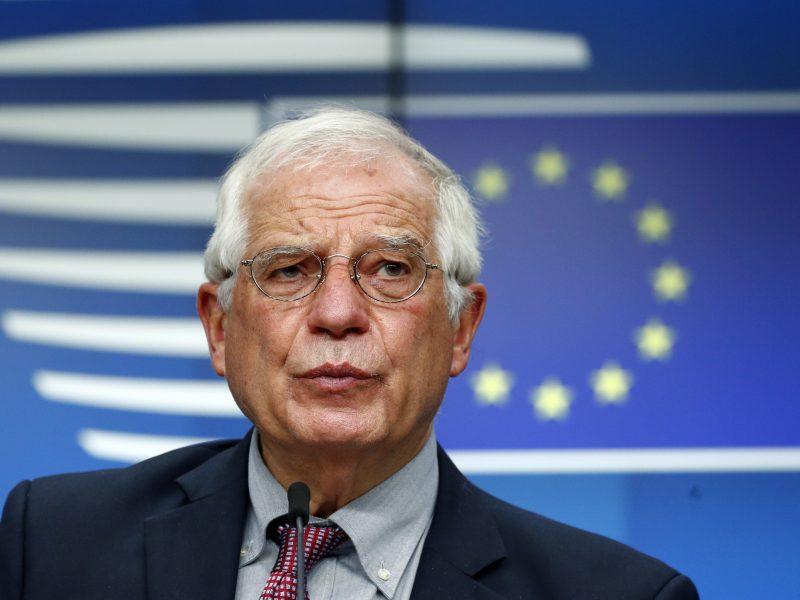 J. Borrellis teigia, kad Etiopijos Tigrėjaus regione galimai įvykdyta karo nusikaltimų