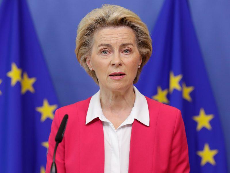 ES žada padvigubinti iki 1 mlrd. eurų savo indėlį į pasaulinę vakcinų programą